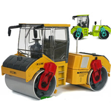 Liga kdw 1:35 roda de aço duplo rolo vibratório carro brinquedos para crianças adulto ornamentos liga diecast modelo brinquedos & presentes