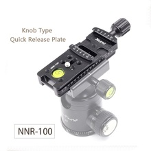 XILETU NNR 100 Lengthen Camera Mounting Bracket Quick Release Plate For Digital Camera Arca Swiss Tripod Ball Head