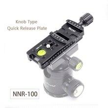 Xiletu NNR 100 Verlengen Camera Montagebeugel Quick Release Plaat Voor Digitale Camera Arca Swiss Statief Ball Head