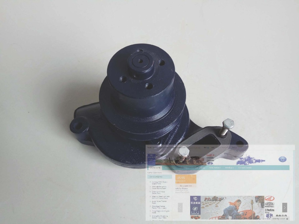 Shanghai 495A engine for SNH50 504, the water pump assembly as picture showed, part number: water pump for d905 engine utility vehicle rtv1100cw9 rtv100rw9