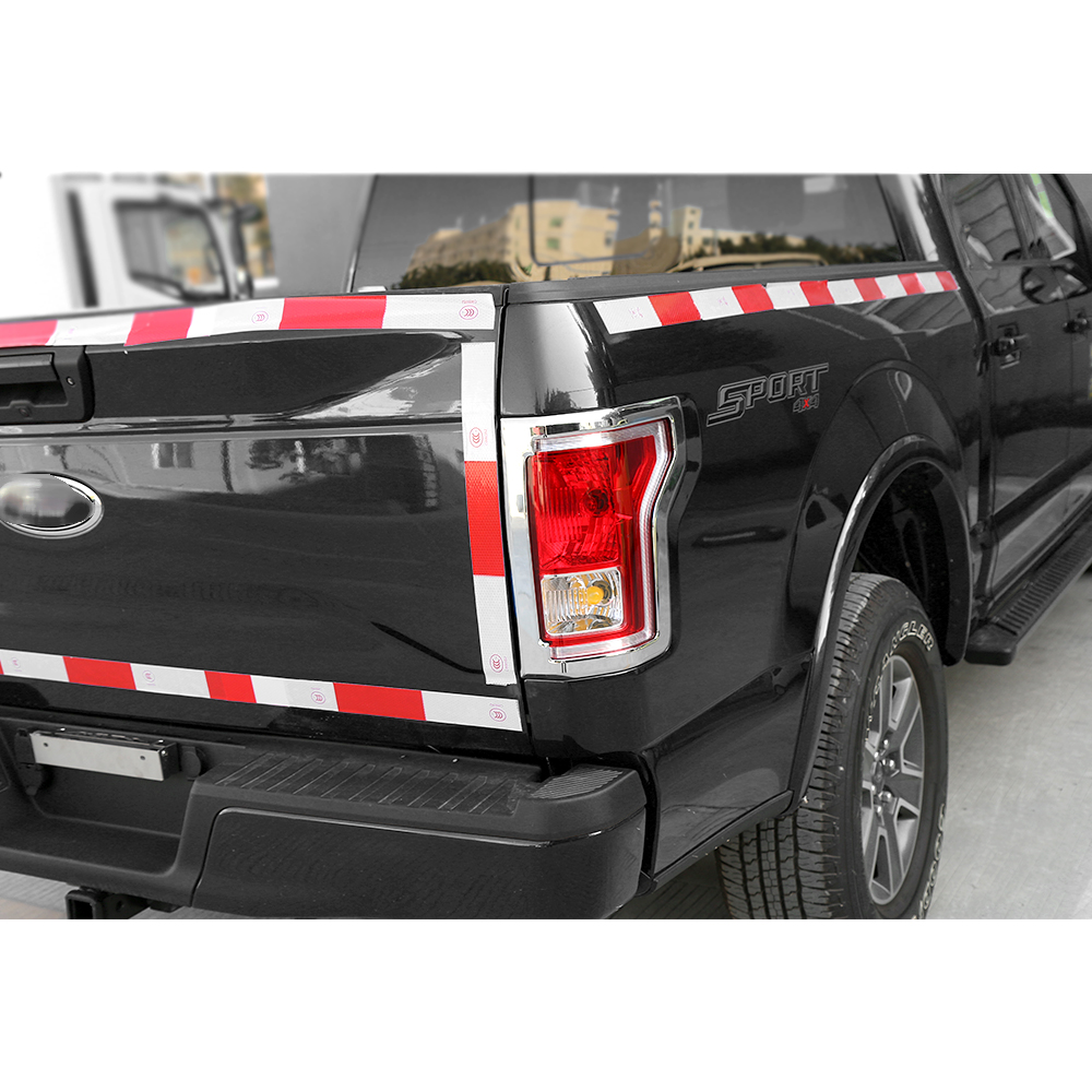 shineka abs auto rear light cover tail lamp cover frame exterior accessories for ford f150 in interior mouldings from automobiles motorcycles on  [ 1000 x 1000 Pixel ]