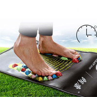 Medialbranch Colorful Plastic Foot Massager Pad Acupuncture Cobblestone Yoga Mat 175*35cm YF2017 Bodys Treatment