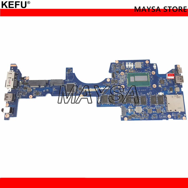 FRU 04X6417 Mainboard For Lenovo Thinkpad Yoga S1 Laptop motherboard ZIPS1 LA-A341P SR1EA <font><b>I7</b></font>-<font><b>4600U</b></font> 8GB Ram Memory works image