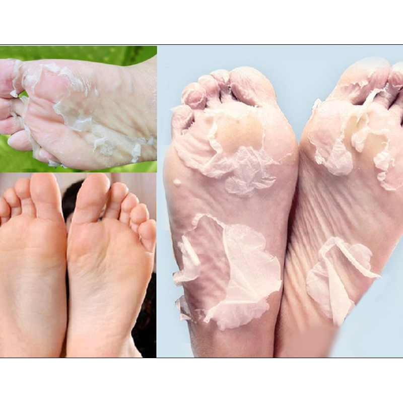 1 Pair Peeling Feet Mask Milk Bamboo Vinegar Remove Dead Skin Foot Skin Smooth Exfoliating Feet Mask Socks Foot Care Pedicure