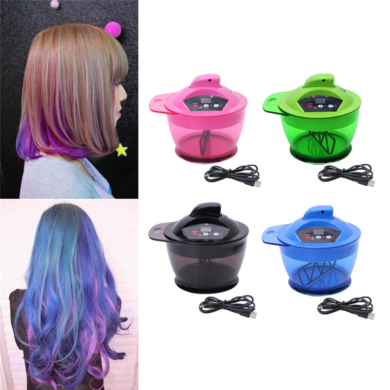 Professional Electric Hair Coloring Bowl Automatic Mixer For Hairs Color Mixing