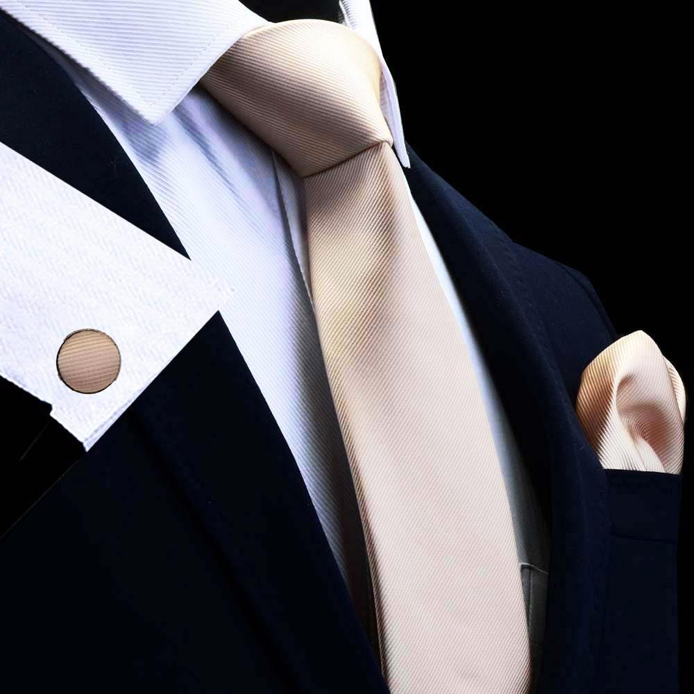 Handmade Plain Royal Blue Satin Classic Men Tie /& Pocket Square Set Wedding Tie