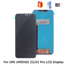 все цены на For UMI UMIDIGI Z2 Pro LCD Display Touch Screen 6.2 Inch Phone Accessories For UMI Umidigi Z2 Screen LCD Display Repair Parts онлайн