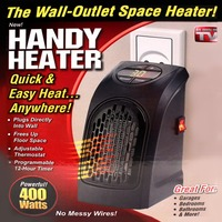 Mini Wall Outlet Electric Handy Air Heater Warm Blower Radiator Warmer EU Plug