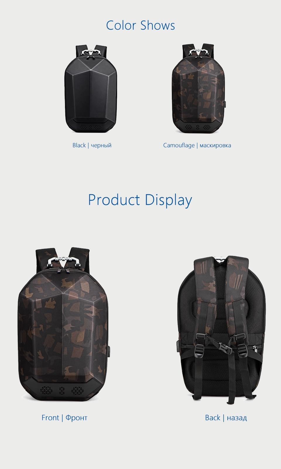 "HTB1ObOYaPnuK1RkSmFPq6AuzFXap - OZUKO Men 15.6"" Laptop Backpack Fashion Waterproof Teenager Schoolbag"