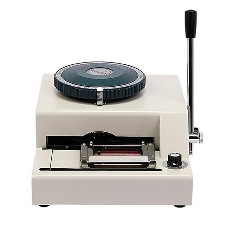 JX 68C Model PVC card embosser machine hot embossing machine label embossing machine