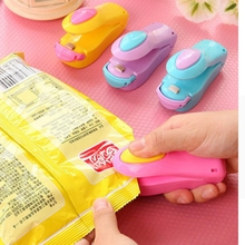 Portable Plastic Handy Heater Bag Sealer Capper Household Mini Sealing Machine Food Saver Storage Kitchen Accessories cheap Sewing Machine Parts