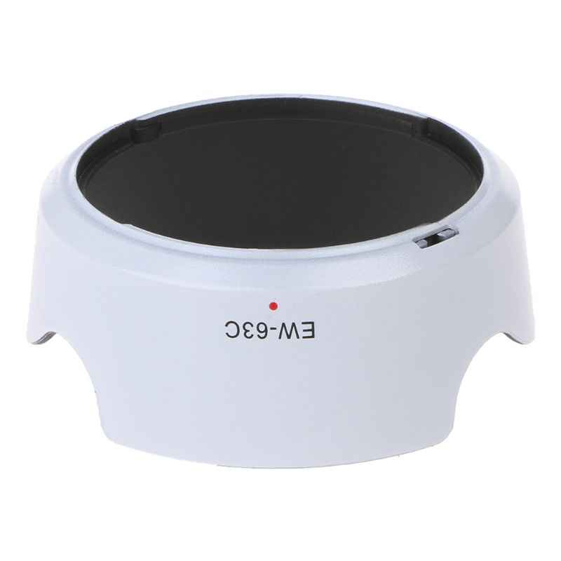 MỚI Trắng EW-63C EW63C ống kính máy ảnh phụ kiện máy 58mm cho Canon 700D 760D EF-S 18-55mm f /3.5-5.6 IS STM chất lượng tốt Foleto