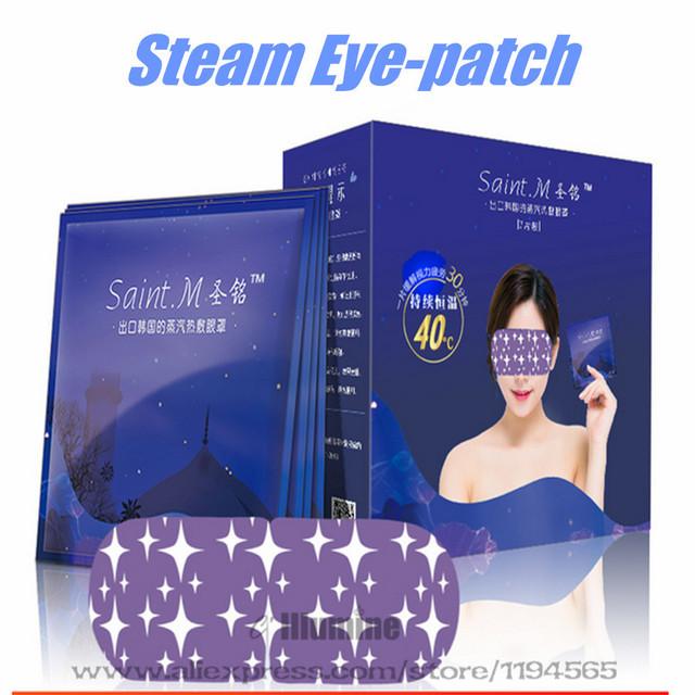 14 Steam Unids/caja Parche en el Ojo Para Dormir Parche Calefacción Productos anti-eyebag Eliminar La Fatiga Ojos Cuidado Anti-Oscuridad