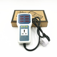 ATX9800 power meter 4400W 20A Electric Power Energy Monitor LED Light Tester Socket Watt Meter Analyzer