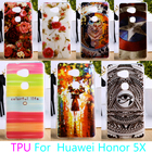 AKABEILA Soft Phone Case For Huawei GR5 Honor 5X Honor Play 5X Mate 7 Mini Honor5X mate7 mini Case Hard Cover Housing Shell Bag