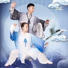 Yiwutang Тай чи костюм и рубашка для кунг-фу Боевые искусства одежда для мужчин или женщин подходит для человеческого роста от 1,5 до 1,8 м