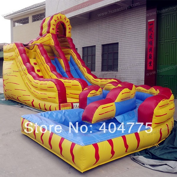 Inflatable Water Slide Repair Kit: 2014 New Commercial Inflatable Water Slide With Free CE/UL