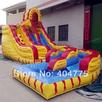 2014 new commercial inflatable water slide with free CE/UL blower and carry bag and repair kit