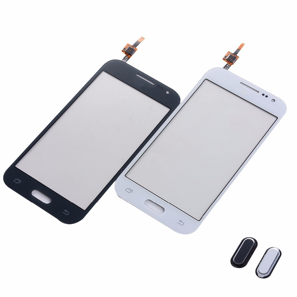 For Samsung Galaxy DUOS Core Prime G360F G360H G361F G361H Touch Screen Digitizer Front Glass Panel+Home Button Return Keypad