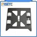 Placa anodizada de aluminio Y carro con SC8UU pgrade Prusa i3 V2 placa de soporte de cama caliente para Prusa i3 RepRap DIY 3D piezas de la impresora