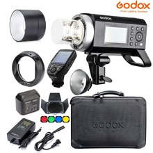 Godox AD400 Pro WITSTRO All-in-One Outdoor Flash AD600Pro Li-on Battery TTL HSS with Built-in 2.4G Wireless X System (AD400PRO) godox ad600 pro witstro all in one outdoor flash ad600pro li on battery ttl hss built in 2 4g wireless x system for canon nikon