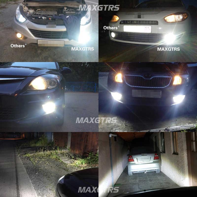 2x 30W H1 H3 H7 H8/H11 9005 9006 H16 Cree Chip Led with Lens Car Fog Light Auto Led Parking Reverse Tail Car Light Source
