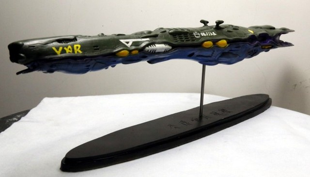 1/8000 scale macross robotech Zentraedi flagship model Free Shipping