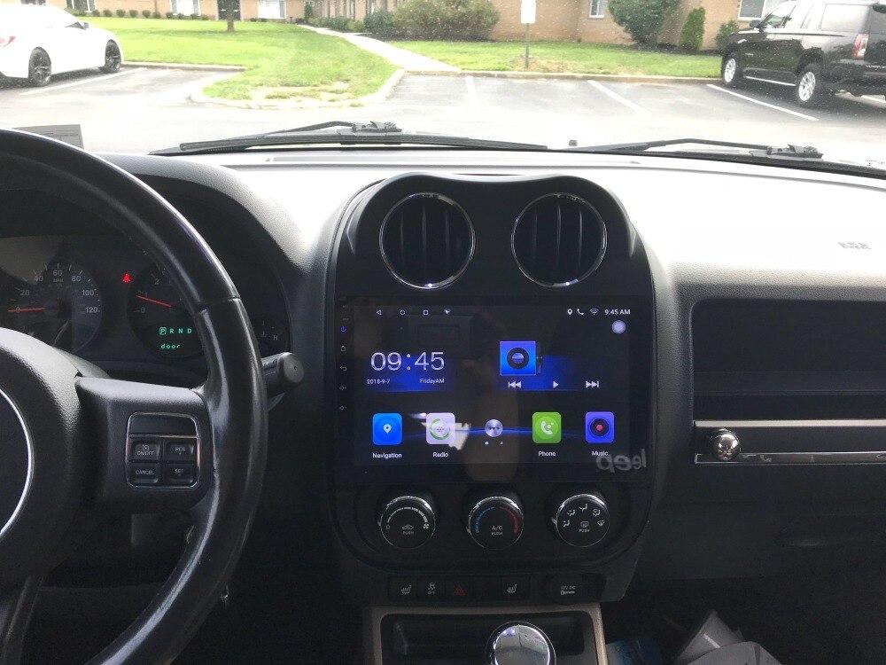 Android 8.1 Fit JEEP COMPASS/Patriot 2007-2012 2013 2014 2015-Voiture DVD Lecteur Multimédia de Navigation GPS radio PC PAD 3g WIFI