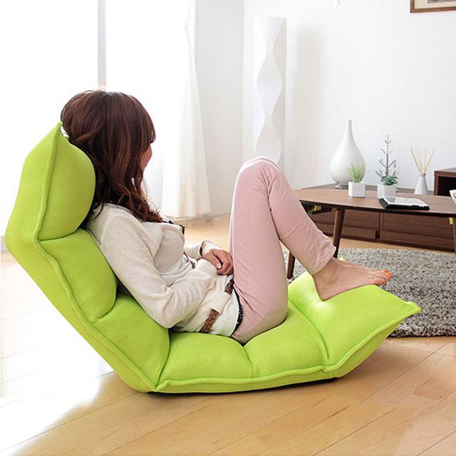 9 Folding Lazy Lounger Sofa Portable Chaise Lounge Chair Floor Seating Adjule Foldable Bed Living Room Furniture