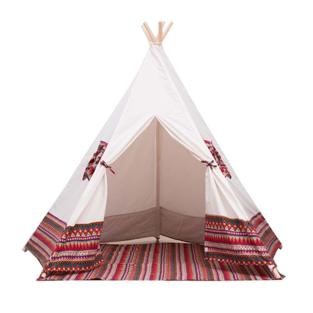 Free Love @red color kids play tent indian teepee children playhouse children play room teepee-in Toy Tents from Toys u0026 Hobbies on Aliexpress.com | Alibaba ...  sc 1 st  AliExpress.com & Free Love @red color kids play tent indian teepee children ...
