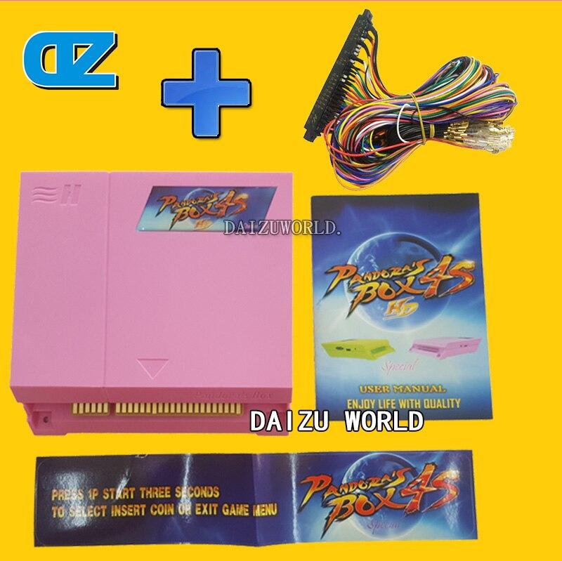 Original Pandora Box 4s plus 815 in 1 jamma harness Arcade Game cartridge jamma Multi game