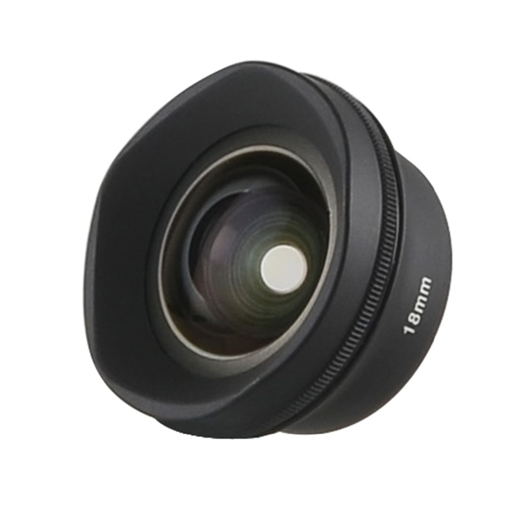 $37.26 | SIRUI 18mm Wide Angle Mobile Phone Lens with Multi-Purpose Clip for iPhone X 8 7 Pixel Samsung Galaxy xiaomi Camera Phones