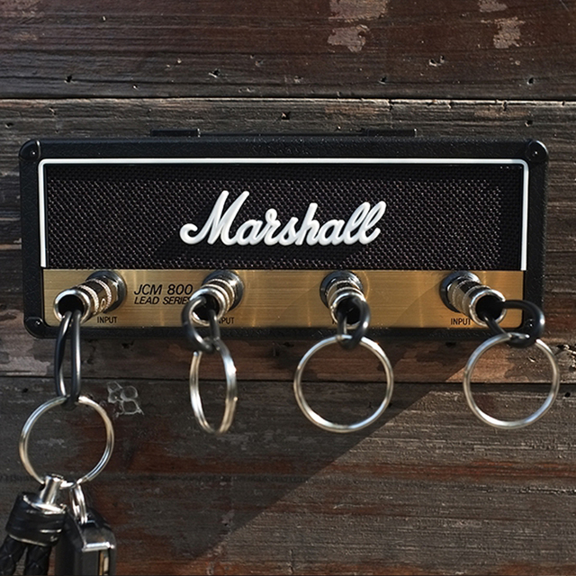 Marshall Key Holder Rock Electric Guitar speaker key hanging Key hook Storage Keychain Vintage  JCM800  1959SLP BULLET GP69 2