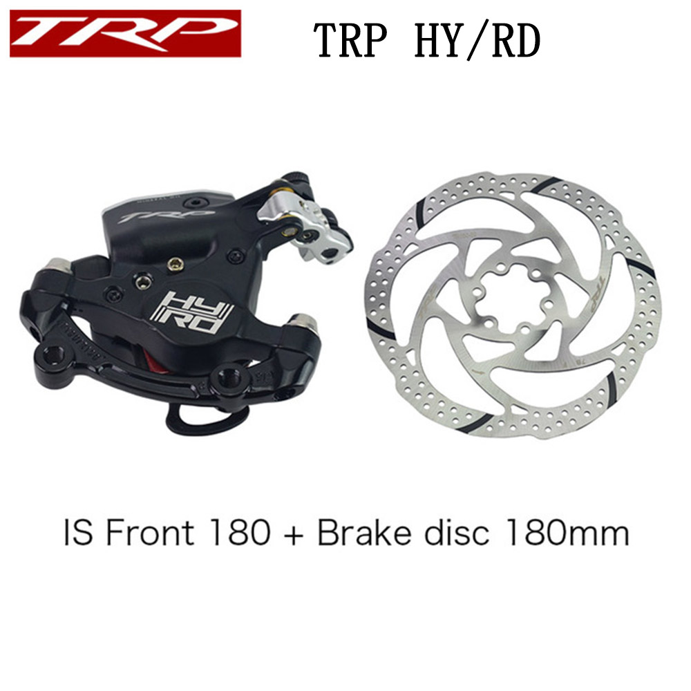 TRP HY/RD Post Mount Bike Cable Actuated Hydraulic Disc Brake Caliper 160mm w/ or w/o Rotor Front / Rear / Set HY/RD ROAD BlackTRP HY/RD Post Mount Bike Cable Actuated Hydraulic Disc Brake Caliper 160mm w/ or w/o Rotor Front / Rear / Set HY/RD ROAD Black