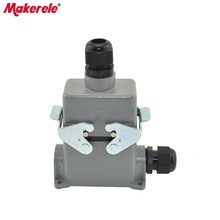 MK-HE-010-4 widely used multi pin heavy duty headlight connector for car system,heavy-duty connector cover