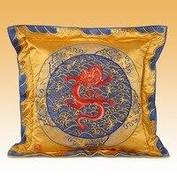 Шелк диван обратно украшения Cloud дракон рисунок квадратный 74*74 см постельные принадлежности статья кресло автомобиля подушки сиденья вышив