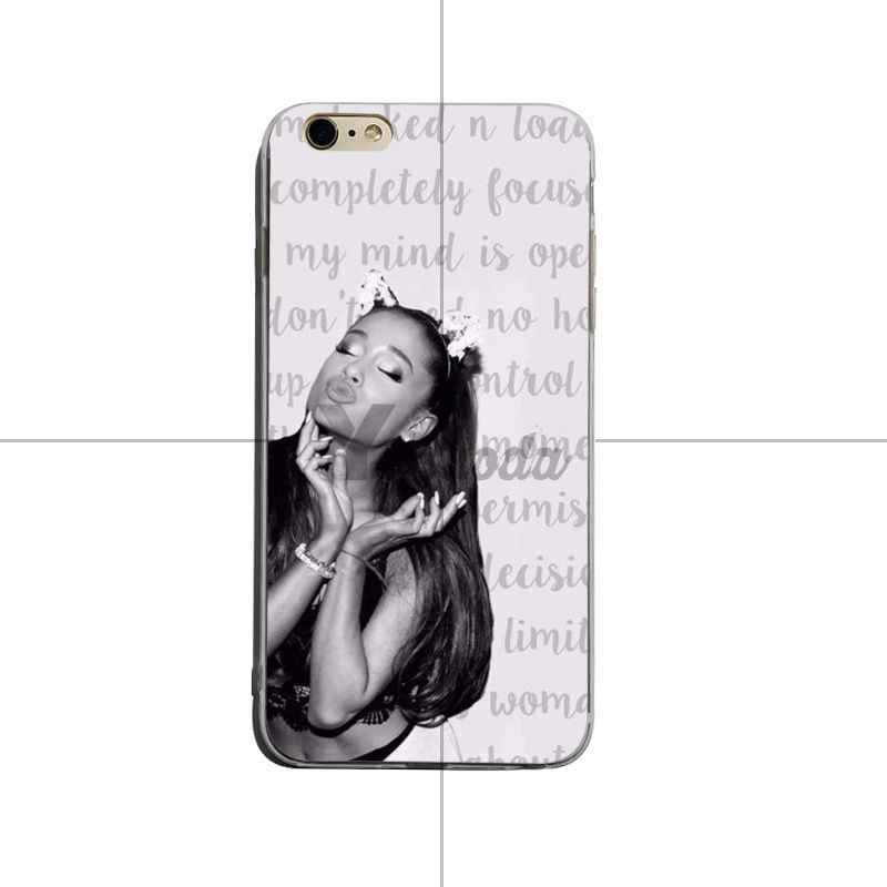 d82836daa38 ... Yinuoda Sexy Cat Ar Ariana Grande Novelty Fundas Phone Case Cover For iPhone  6 6plus 7 ...