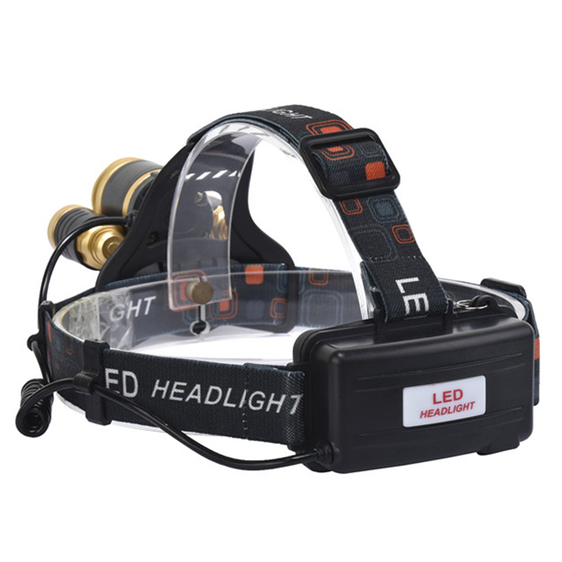 cheapest Z20 Litwod led Headlight 7000 Lumen chips T6   2 Q5 headlamp LED Lamp Flashlight head torch Headlamp battery For Camping light