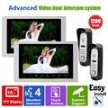 Homefong10inch Video Door Phone system  home  Intercom high resolution  door monitor System  Inter-conversation Doorbell 1200TVL