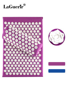 Massage Mat Massager Relieve Stress Back Pain Acupressure Mat Rose Spike Massage
