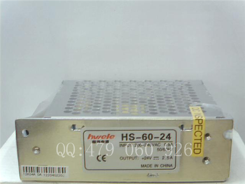 [ZOB] Heng Wei switching power supply HS-60-24 24V2.5A --3PCS/LOT [zob] heng wei switching power supply t 50d 3pcs lot