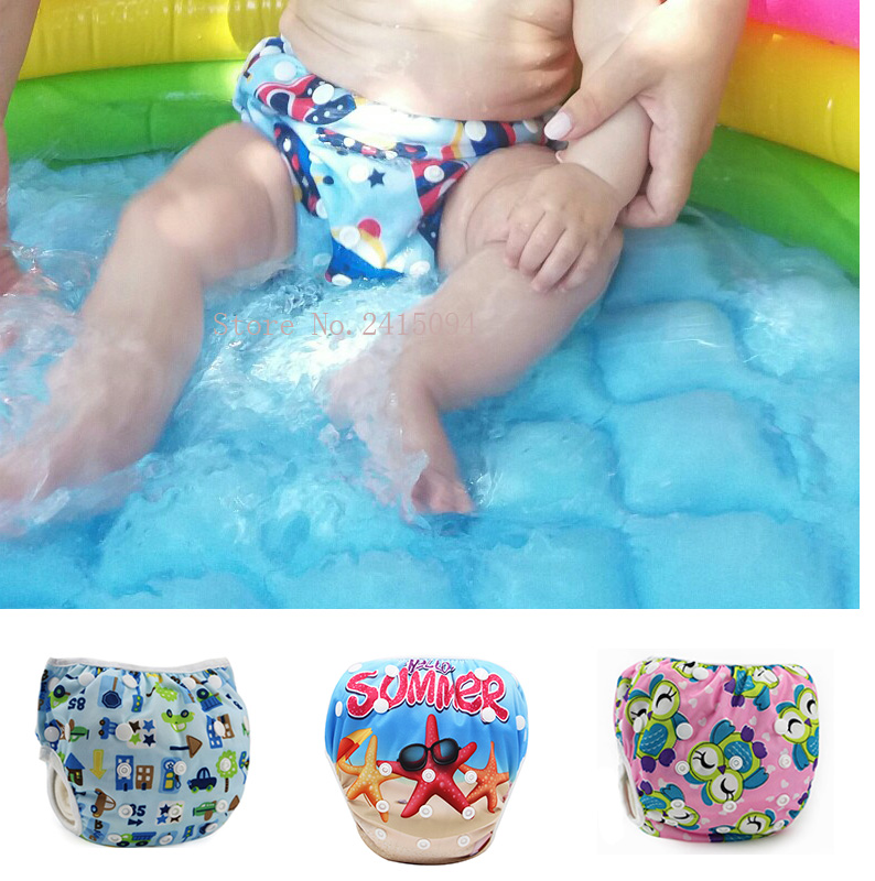 Infant Swimming Trunk/swim Diaper Swimsuit Boy Swim Diapers/newborn Baby Girl Swimwear 0 1 2 Years