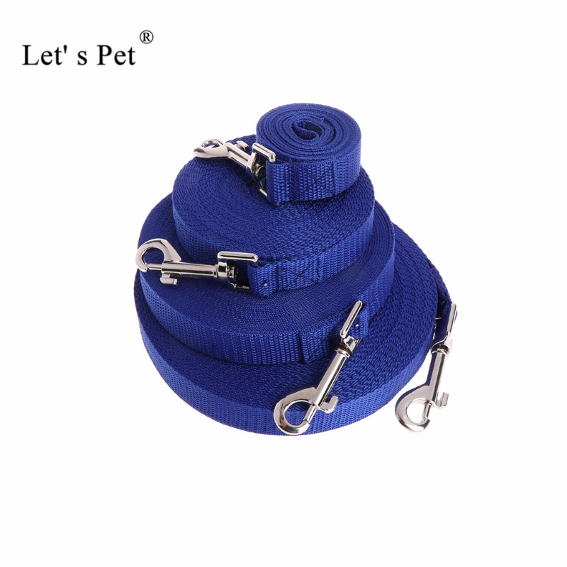 Dog Collars & Leads Nylon Dog Leash For Dogs Puppy Chihuahua Walking Dog Lead Leashes Training Pet Dog Harness Supplies 1.5m 1.8m 3m 4.5m 6m