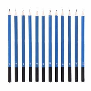Image 4 - 48 adet/grup Profesyonel Eskiz Çizim Kalemler Kiti Taşıma Çantası Sanat Boyama Aracı Seti Siyah Ressam Için Öğrenciler Sanat Malzemeleri