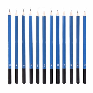 Image 4 - 48PCS/Lots Professional Sketching Drawing Pencils Kit Carry Bag Art Painting Tool Set Black For Painter Students Art Supplies