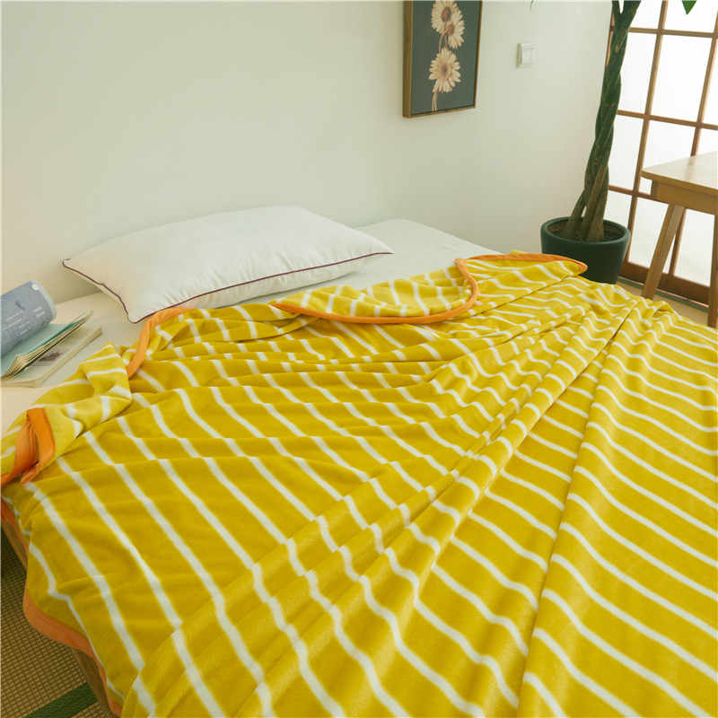 Engrossar colcha cobertor 200x230 cm Alta Densidade Super Macio Cobertor de Flanela para on para o sofá/Cama /carro Portátil Mantas