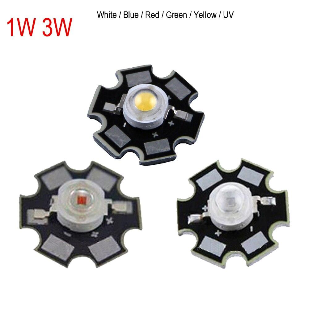 10pcs Real Original Epistar Chip 3W LED Bulb Diodes Lamp 200lm-220lm White/Red/Yellow/Blue/Green/RGB/UV LED Bulbs Light 5mm led diodes red yellow multicolored 40 pcs