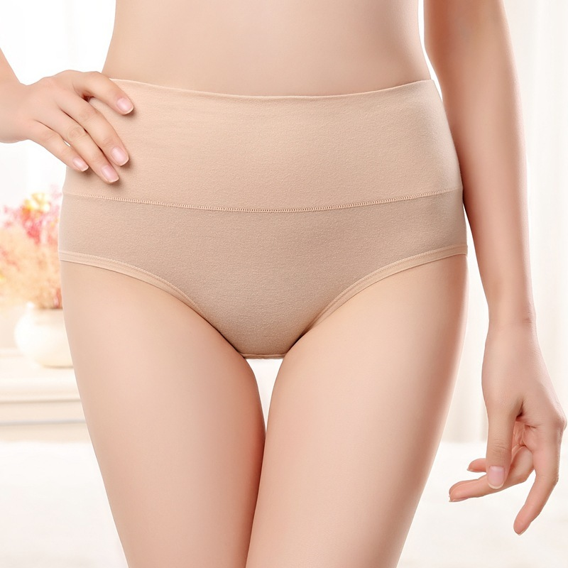 New Product Cotton Women's   Panties   Ma'am Underwear Ventilation Pants High Waist Menstruation Stage Women's Underpants Briefs