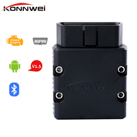 Konnwei KW902 Elm327 OBD2 Bluetooth 3 0 Adapter For Android Auto Diagnosis Scanner ODB 2 Bluetooth