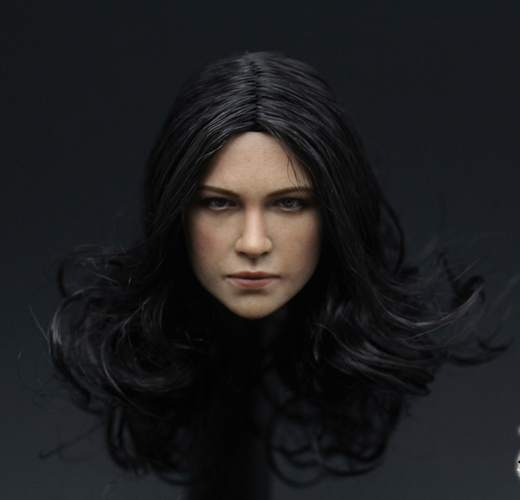 1:6 scale Female Figure accessories Michelle Rodriguez Fast & Furious Letty head shape carved for 12 Action figure doll brand new 1 6 scale fast